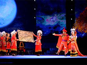 黔彝族创意民族歌舞诗《奢香》在大方首演