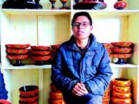 越西普雄镇:彝族漆器重返日常 技艺传承正当时