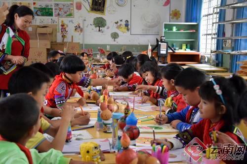 """民族团结进校园 云南石林县这所学校着力培养学生""""文化自信"""""""