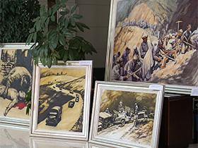 一个彝族画家的滇缅公路油画情结