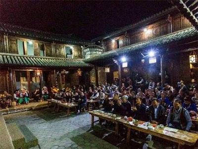 巍山县彝学会与石林县彝学会举行文艺联谊活动
