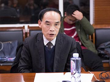 彝学专家、云南彝学会副会长白兴发教授在中央民大开展彝学讲座