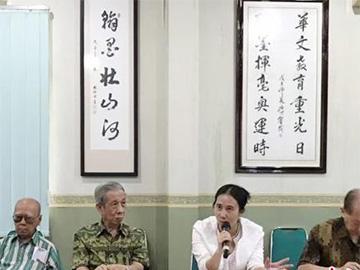 中国彝族女作家印尼采风 创作华人华侨题材长篇小说