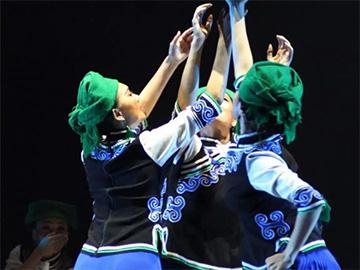 """彝族群舞《情深谊长》获第十届中国舞蹈""""荷花奖""""民族民间舞金奖"""