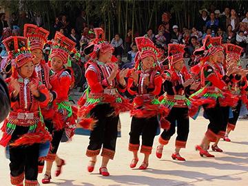 彝族花腰(尼苏)传统文化保护区音乐舞蹈传承与保护对策研究