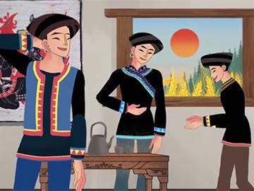 中国彝族古训文化微动漫作品(二)《创业篇》