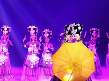 """四川省2018百家""""推优工程"""":《月光下的朵乐荷》:彝家姑娘在 月光下翩翩起舞"""