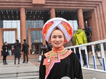 人大代表文安梅:传承彝族文化更有力量了