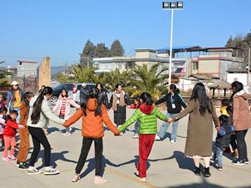 用青春拥抱彝山——武定大学生志愿者支教日志