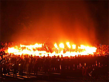 """在""""火""""文化洗礼下铸造的彝族传统体育文化表现形式"""