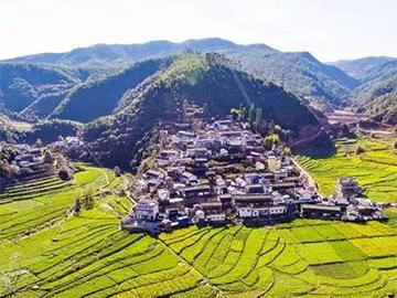 元双公路上的传统古村落