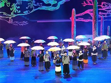 峨边:《美神·甘嫫阿妞》首演 凄美视听盛宴征服观众