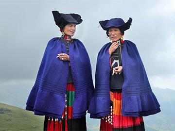 一枝独秀的彝族服饰