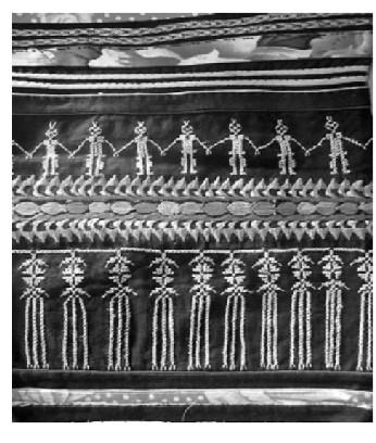 图1人形舞蹈纹