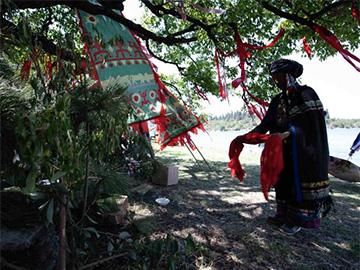 传承古老民族文化 石林长湖举行彝族撒尼祭龙仪式