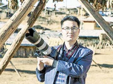 """凉山州摄影家邹森作品 入展""""第十二届中国艺术节·全国优秀摄影作品展"""""""