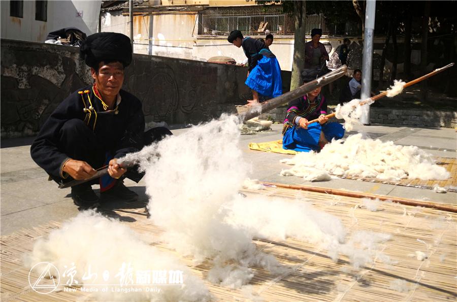 """昭觉""""毛纺织及擀制技艺被列为第二批国家级非物质文化遗产.jpg"""