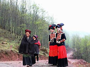 """中国大凉山最原始的传统民俗文化""""彝族年""""摄影采风团"""
