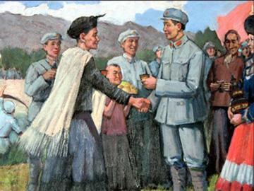 刘蒙:彝海结盟是段感人的历史故事