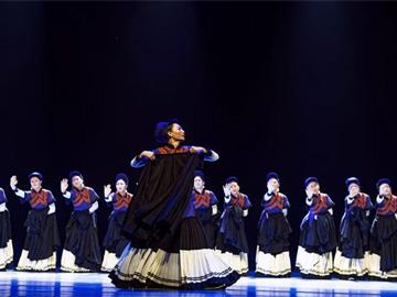 彝族舞蹈《挽歌》献给凉山木里火灾30位牺牲英雄