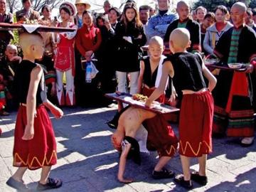 南涧彝族跳菜,舌尖上的民间艺术
