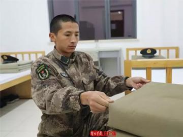 大凉山的雄鹰:彝族新兵马海尔哈
