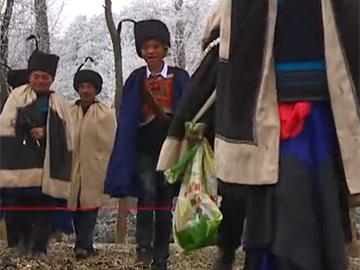 纪录片:彝族文化国家级非遗名录《尼木措毕》祭祖仪式