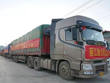 宁蒗驰援物资到达武汉!325吨物资将直达武汉四家定点医院!