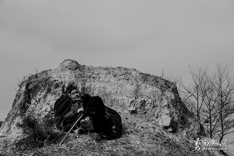 孤独的牧羊人(凉山布拖特木里)