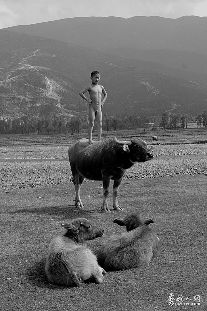 牛背上的童年(凉山布拖拉达乡)