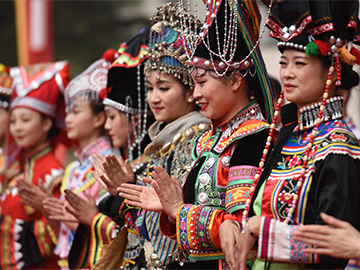 The most passionate people in Yunnan province-Yi Minority