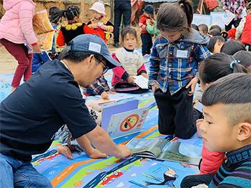"""莫西子诗发起""""自然阅读""""——大凉山村落流动图书室计划"""
