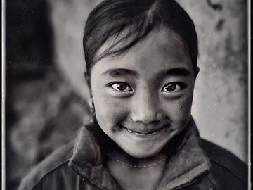 彝人造像|台湾著名摄影家林添福仿古典湿版技法摄影作品