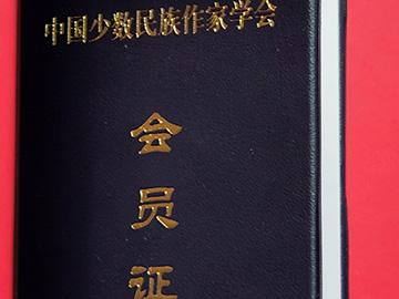 武定两位彝族作家成为中国少数民族作家学会会员