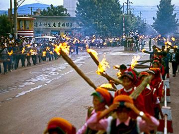 图文:民族风情浓郁的凉山彝族火把节