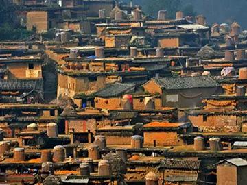 彝族特色建筑,云南的传统土掌房