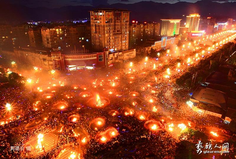火把节是哪个民族的:火把节是几月几号