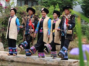 国家级非遗产保护名录:楚雄牟定的彝族左脚舞