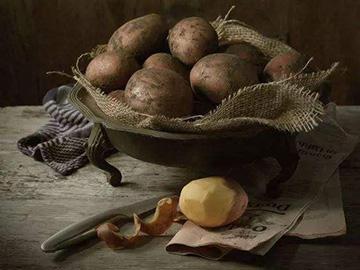 阿凡:彝山的土豆