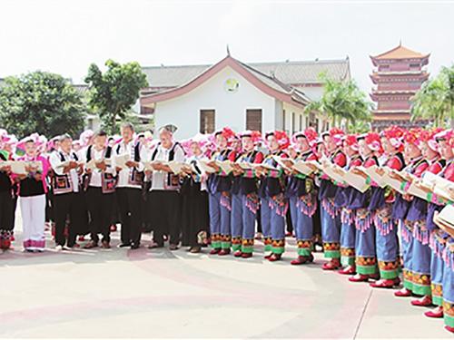 云南蒙自:彝族传统文化后继有人