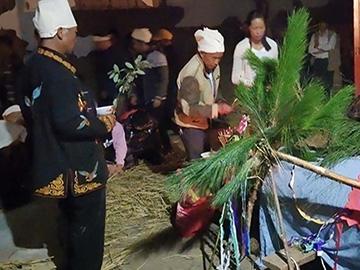 现代罗婺彝族丧葬礼仪