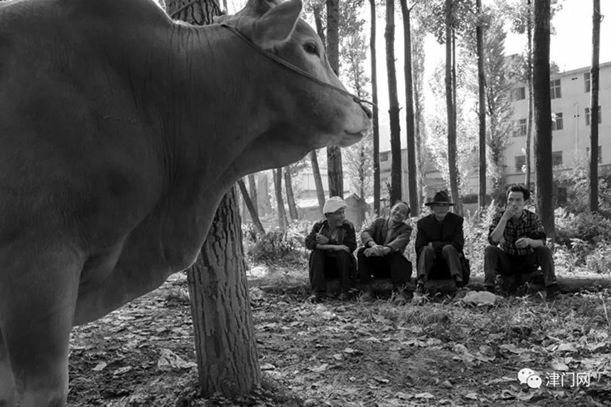 集市上刚刚交易完的彝族同胞在一起开心地聊天。