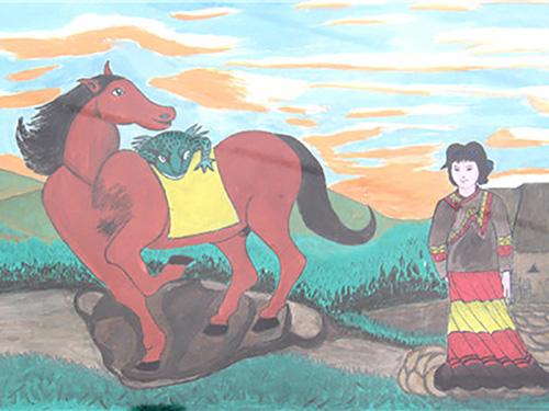 独树一帜的马边彝族农民画