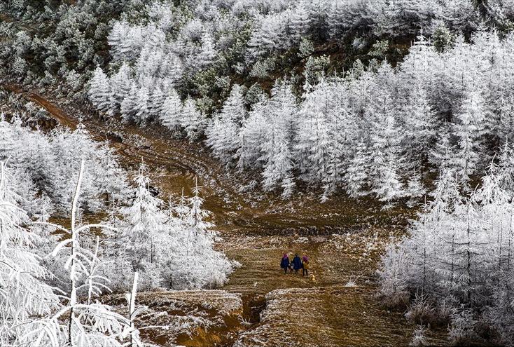 《大山深处》余祥春(摄)凉山州文化广播电视和旅游局供图