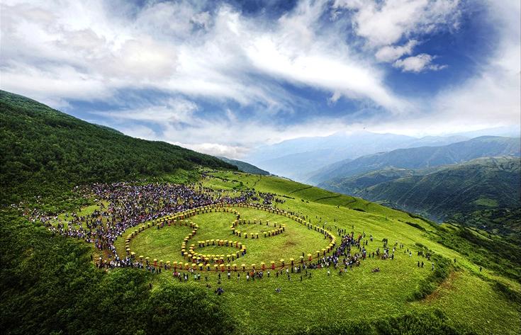 高山朵乐荷 刘英(摄)凉山州文化广播电视和旅游局供图