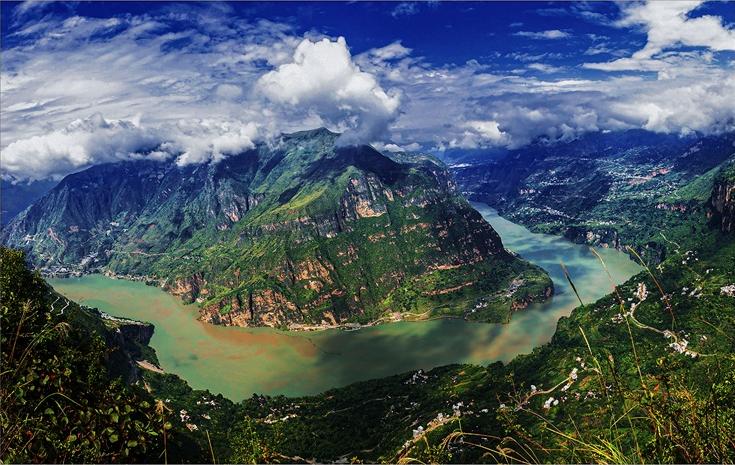 金沙江大弯子 惠永桂(摄)凉山州文化广播电视和旅游局供图