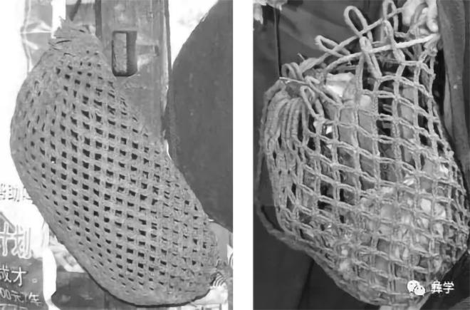 图11:装经卷的网兜(阿牛史日摄)