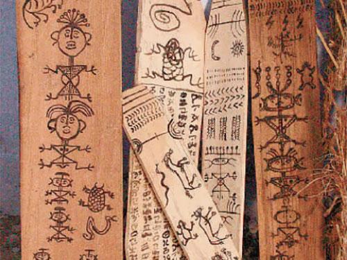 """非遗档案:毕摩绘画——远古绘画艺术的""""活化石"""""""