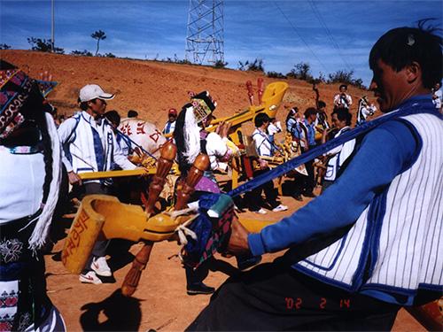 云南彝族民间舞蹈的分类及其特点