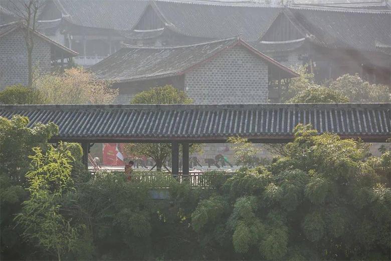 大方贵州宣慰府一角(罗大富 摄)